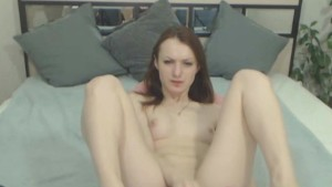 Webcam Sweet Petite Teen Loves Anal Masturbation!