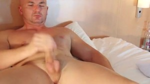 Alex a str8 neighbour made a porn where he gets wanked by a guy!