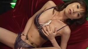 Yui Natsuki is fucked with sucked vibrator