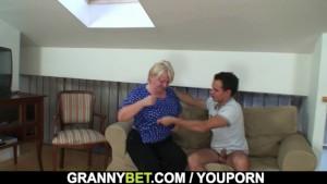 He easily seduces old grandma