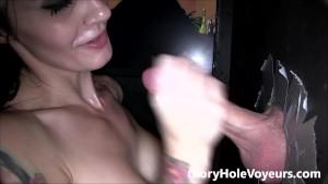 Samantha Jaymes Gloryhole Blowjob