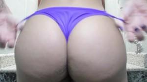 Glamorous latina trans and her beautiful ass