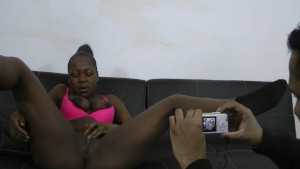 Video Porno POV a pretty black amateur fuck