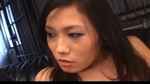 Yui Komine sucks and rubs dick