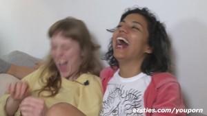 Amazing Homemade Lesbian Threesome!