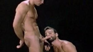 Al Parker and Rydar Hanson in HEAD TRIPS (1984)