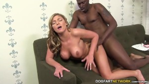 Brianna Brooks takes massive black cock