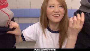 Subtitles - Beautiful Sakamoto Hikari fucked in storeroom
