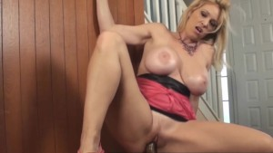 Horny Hot MILF Charlee Chase Horny for BBC Dildo