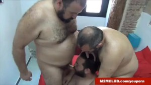 Horny Cub Gang-banged
