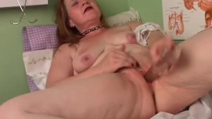 Super sexy old spunker imagines you are fucking her juicy cunt