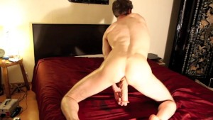 Twink Shaved Smooth and Using Dildo