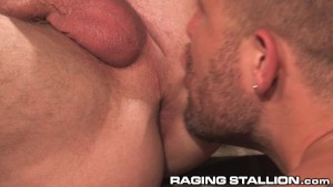 RagingStallion Two Jocks Jousting With Meat Rockets