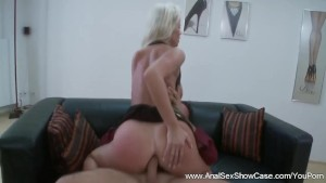 European MILF Tries Deep Anal Sex