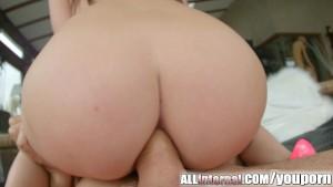 Allinternal pretty Liona gets her tight ass filled with cum