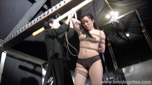 Devils asian suspension bondage and kinky fetish of tied up japanese beauty in strict dungeon ropeworks