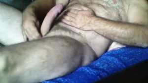 Man Bear hairy big cock solo