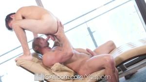GayRoom - Daddy Myles Landon & Marcus Rivers