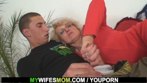 Mother in law seduces him for sex