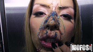 Mofos - Latina's Big Tits Covered in Candy