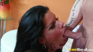 Chubby Angelina Castro loves the taste of rods
