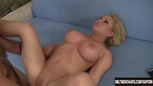 Horny blond girl Jasmine Gin gets fucked hard