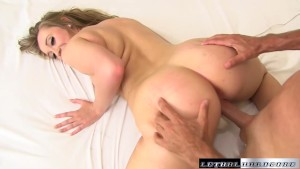 Pornstar Harley Jade gets her huge ass spread and pussy fucked