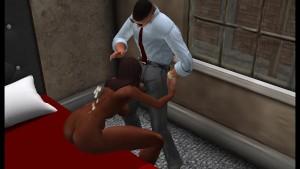 Fred Adjani qui se fait aborder par une jolie algérienne virtuelle