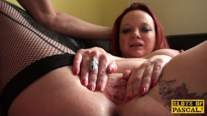 Mature british sub dominated over and nailed