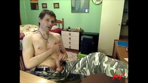 waking and cumming in camo