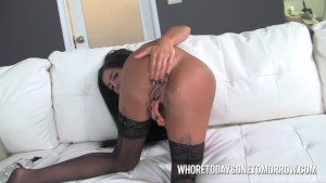 Hot Stacy Jay Farts During Casting Couch Anal Play