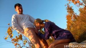 Supreme outdoor sex scenes