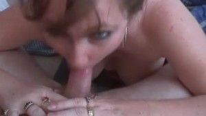 Step Mom Sucks Off Son At Home