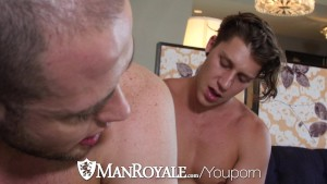 ManRoyale - Paul Cannon Pounds Muscle Hunk