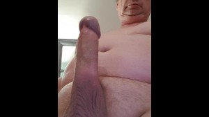 Massive cumblast from my fat cock....13th January 2017