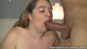 BBW April Mackenzie Gets A Cock Stuffing