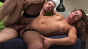 Italian mature anal sex
