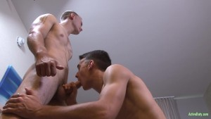 ActiveDuty Chase s First Time Bottoming!