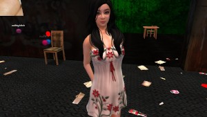 hichan un belle jeune asiatique virtuelle en mini robe - virtuelsexe