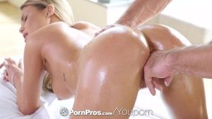 PORNPROS Brunette Kendall Kayden fucked and facialed after massage