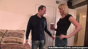 AdultMemberZone - Milf Darryl Hanah Randomly Fucks A Stranger