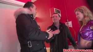 Dutch prostitute ballsucking tourist