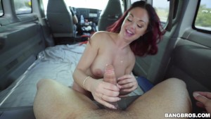 Yoga Hoser Brooke Beretta Hops On The Muthafucking Bang Bus