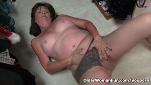 American gilf Ava ends up on t