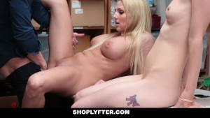 Shoplyfter - Mom & Daughter Fucked For Stealing