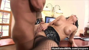 HumiliatedMilfs - She s so dedicated that she lets her boss fuck her ass