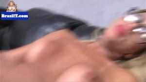 Spex brazilian tgirl sensually posing