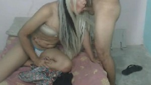 Couple Tranny Having Hardcore Anal Sex