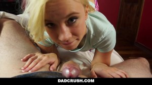 DadCrush - Hot Daughter Fucks Step Daddy