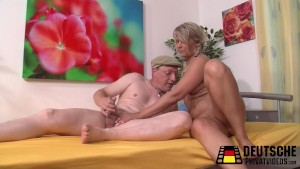 Blonde German Mature